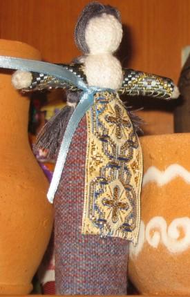 Лялька зроблена під керівництвом Варвари Мацелли