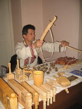 Сергій Святний, народний майстер