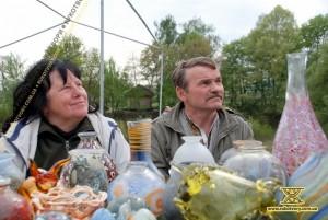 Мистецьке подружжя Василь Білоус та Романа Гудима