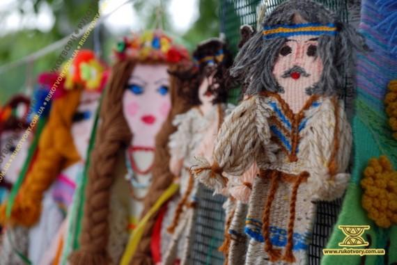 Ткані ляльки від Олександри Пренко