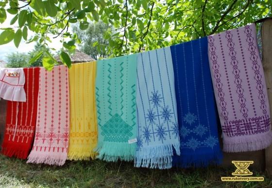 Рушники кольорів веселки. Ірина Карпенко з Донецька