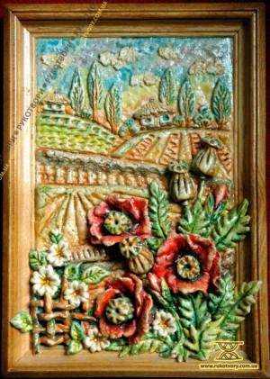 Картина з тіста