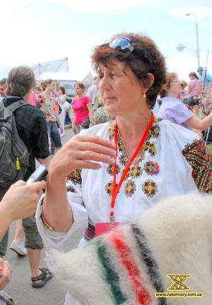 Василина Боцвінко, ткані вироби з вовни