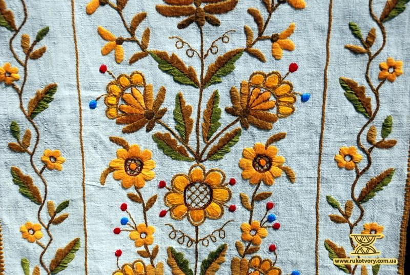 Правила вишивання весільного рушника власними руками - Рукотвори 2cbc195852b53