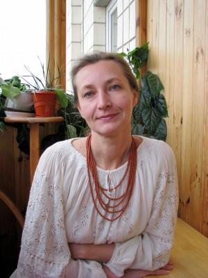 Олена Дзіядевич, майстриня в'язання
