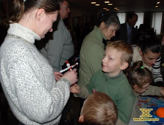 Діти раділи створеному разом з батьками