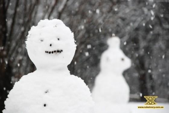 Баба снігова