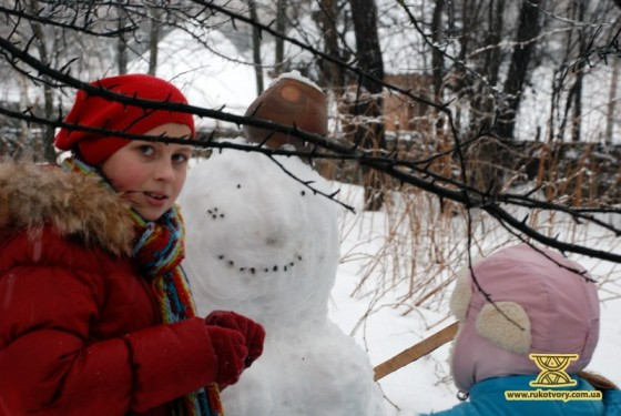 ліпити зі снігу