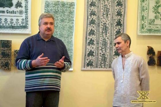 Василь Покотило та Володимир Маркар'ян (праворуч)