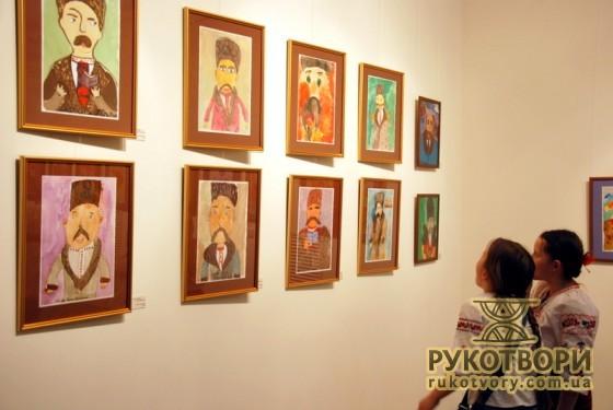 Виставка дитячих малюнків ДЕ ЖИВУТЬ МАМАЇ