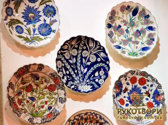 Керамічні тарелі з Ізніку