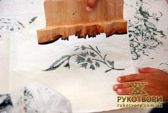 Вибійкова форма турецьких майстрів