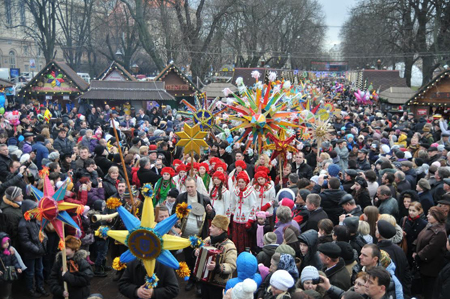 Різдвяна хода у Львові