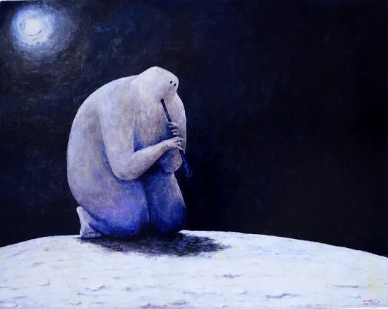 виставка художника Ігора Цикури