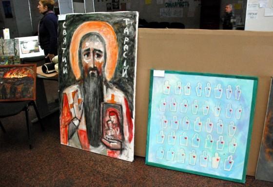 """Ікона """"Святий Тарасій"""". Лев Скоп"""
