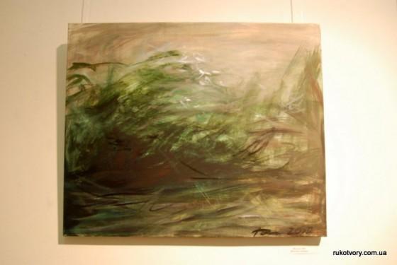 Пейзаж, 2010. Полотно, темпера
