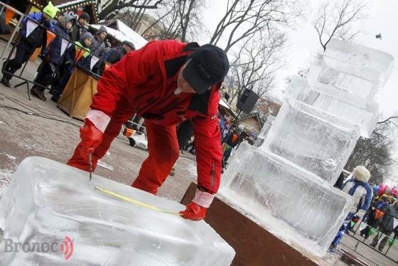 Льодяні скульптури