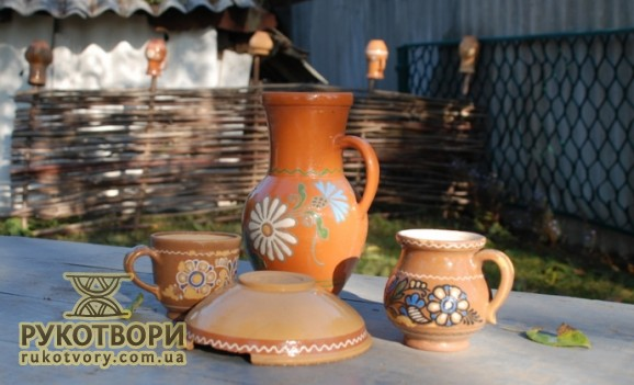 International ceramic symposium in the town of Opishne in Poltava region