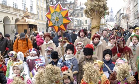 Різдвяні заходи у Львові (січень 2012)