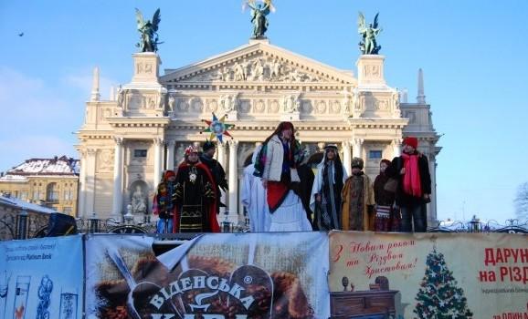 З 10 грудня до 15 січня у Львові триватиме Різдвяний ярмарок