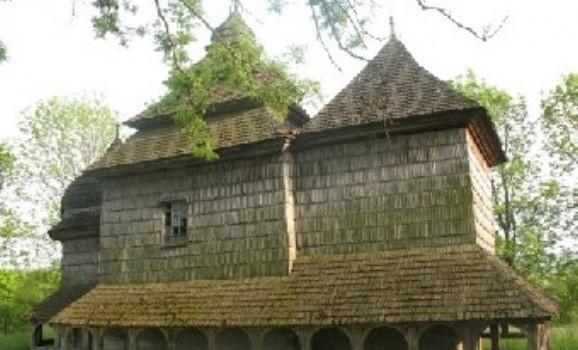 Виставка дерев'яних церков України