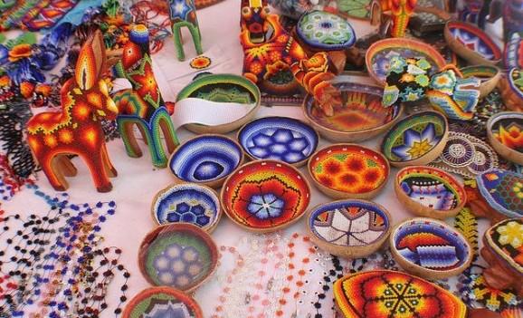 """Виставка мексиканської народності """"Мистецтво Уічоль"""""""