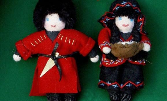 Виставка ляльок сучасних грузинських художників