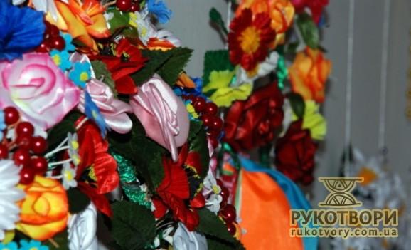 Виставка рушників та весільних вінків Надії Химиченко