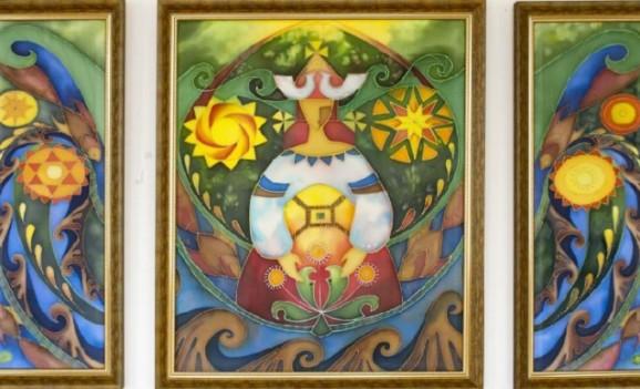 Мистецька виставка Аліни Гончарової-Цівінської