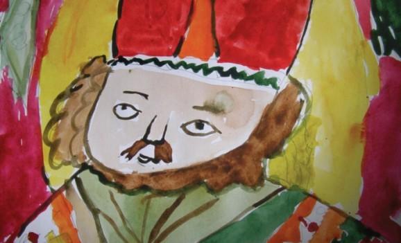 Різдвяна виставка дитячих робіт