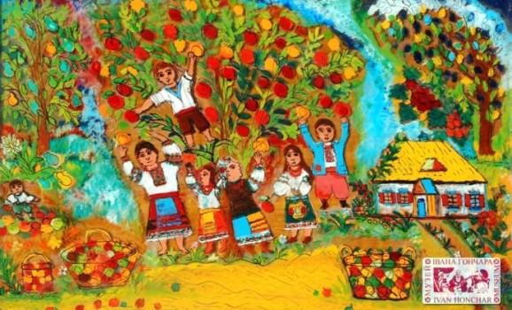Виставка живопису на склі Анастасії Рак (до 90-ліття від Дня народження)