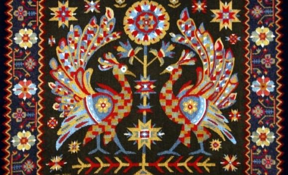 Виставка тканих килимів Степана Ганжі
