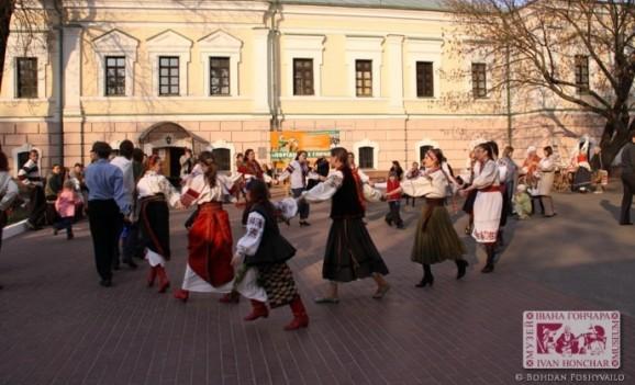 Великодні забави – веснянки в Музеї Івана Гончара