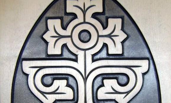 Виставка прадавніх символів язичництва, втілених у дереві