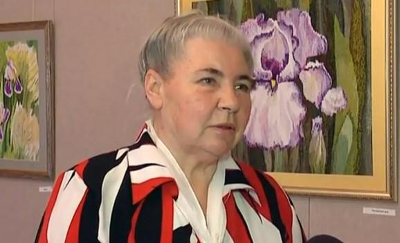 Відкрилася виставка гобеленів Ніни Марченко (ВІДЕО)