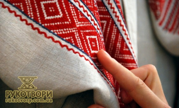 A lot of chemises with ancient embroidery from different regions of Ukraine