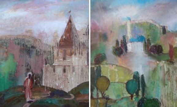 Виставка живопису та каліграфії афганського художника Акбара Хурасані