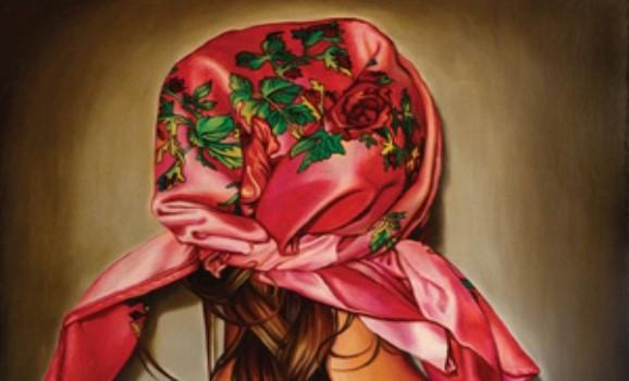 У центрі Києва відкриється виставка Маші Шубіної. Ключовий символ проекту – квітчасті хустки