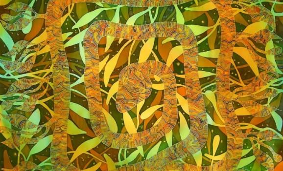 Виставка художнього текстилю Ірини Грохи