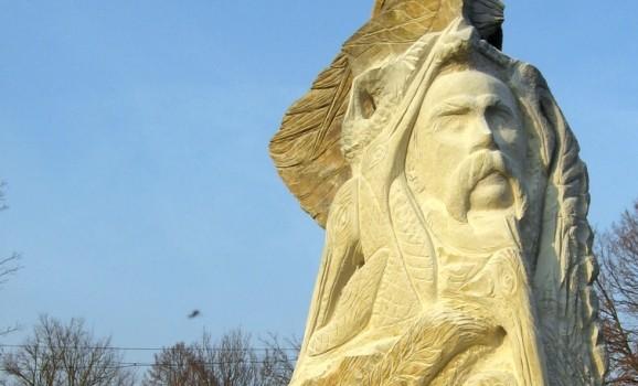 Скульптор Олексій Альошкін шукає місце для незвичного пам'ятника Шевченку