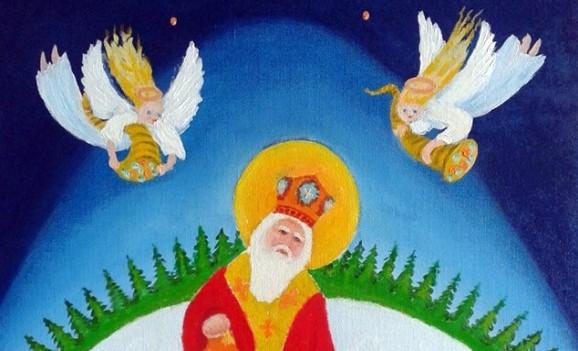 "Виставка малярства Станіслава Брунса ""Святий Миколай іде, за собою Різдвяні свята веде!"""