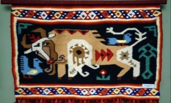 Виставка тканих виробів Олександри Пренко та її учнів