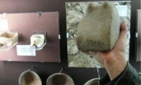Трипільське зображення рогатої змії представили у музеї Черкас