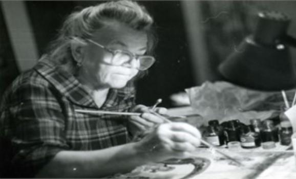 На 92 році життя відійшла у вічність відома художниця Анастасія Рак