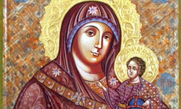 Виставка ікон сімейної іконописної майстерні «Небо на землі», присвячена Покрову Пресвятої Богородиці
