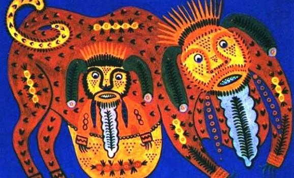 Виставка живопису Марії Приймаченко з приватних зібрань в Національному музеї Т.Шевченка