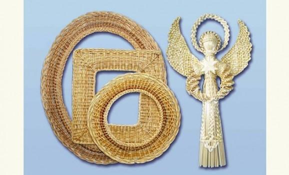 Виставка виробів з лози та соломи Зінаїди Лугової та її учнів (Київ)