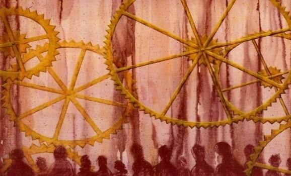Кожна з картин має свій музичний трек – нова виставка в Києві