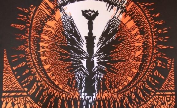 Черкаський митець присвятив роботи співачці Руслані і козаку Гаврилюку