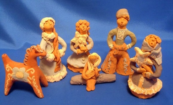 Творчість дітей в Опішні: різдвяна виставка
